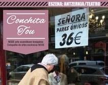 CONCHITA TOU Antzerkia – Erresidentzia amaierako erakustaldia